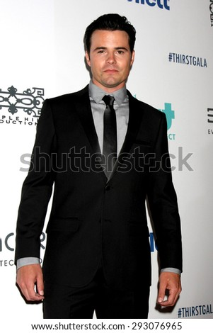 LOS ANGELES - JUN 30:  Nathan West at the 6th Annual Thirst Gala at the Beverly Hilton Hotel on June 30, 2015 in Beverly Hills, CA - stock photo