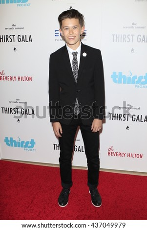 LOS ANGELES - JUN 13:  Nolan Gross at the 7th Annual Thirst Gala at the Beverly Hilton Hotel on June 13, 2016 in Beverly Hills, CA - stock photo
