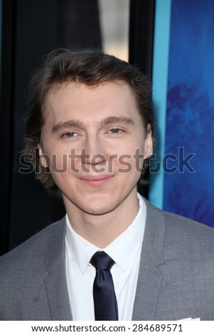 """LOS ANGELES - JUN 2:  Paul Dano at the """"Love & Mercy"""" Los Angeles Premiere at the Academy of Motion Picture Arts & Sciences on June 2, 2015 in Los Angeles, CA - stock photo"""