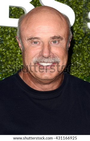 LOS ANGELES - JUN 2:  Phil McGraw at the 4th Annual CBS Television Studios Summer Soiree at the Palihouse on June 2, 2016 in West Hollywood, CA - stock photo
