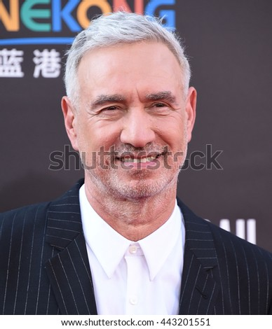 "LOS ANGELES - JUN 20:  Roland Emmerich arrives to the ""Independence Day: Resurgence"" Los Angeles Premiere  on June 20, 2016 in Hollywood, CA.                 - stock photo"