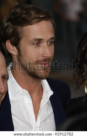 LOS ANGELES - JUN 17: Ryan Gosling at the 'Drive' premiere during the 2011 Los Angeles Film Festival at Regal Cinemas L.A. Live in Los Angeles, California on June 17, 2011.
