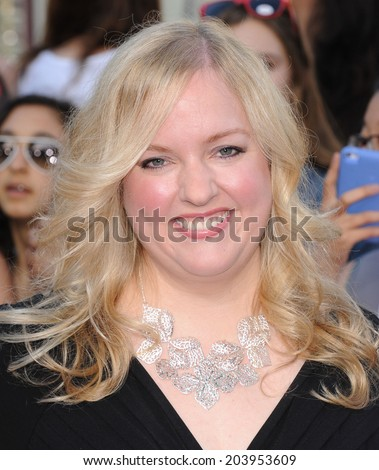 "LOS ANGELES - JUN 09:  Sarah Barker arrives to the ""22 Jump Street"" World Premiere  on June 09, 2014 in North Hollywood, CA"