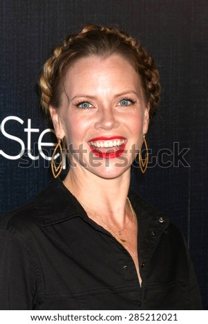 LOS ANGELES - JUN 5:  Sarah Jane Morris at the Step Up Women's Network 12th Annual Inspiration Awards at the Beverly Hilton Hotel on June 5, 2015 in Beverly Hills, CA - stock photo