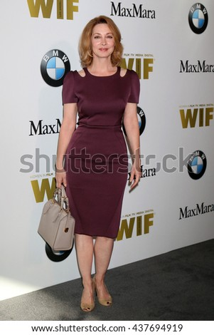 LOS ANGELES - JUN 15:  Sharon Lawrence at the Women In Film 2016 Crystal and Lucy Awards at the Beverly Hilton Hotel on June 15, 2016 in Beverly Hills, CA - stock photo