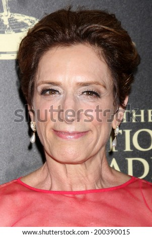 LOS ANGELES - JUN 22:  Shelly Altman, Head Writer, YnR at the 2014 Daytime Emmy Awards Press Room at the Beverly Hilton Hotel on June 22, 2014 in Beverly Hills, CA - stock photo