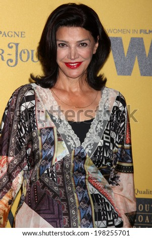 LOS ANGELES - JUN 11:  Shohreh Aghdashloo at the Women In Film 2014 Crystal + Lucy Awards at Century Plaza Hotel on June 11, 2014 in Beverly Hills, CA - stock photo