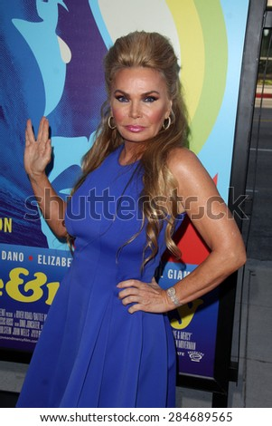 """LOS ANGELES - JUN 2:  Suzan Hughes at the """"Love & Mercy"""" Los Angeles Premiere at the Academy of Motion Picture Arts & Sciences on June 2, 2015 in Los Angeles, CA - stock photo"""