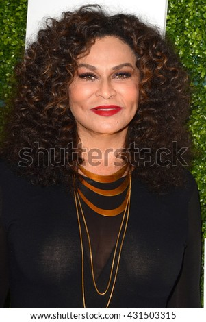 LOS ANGELES - JUN 4:  Tina Knowles at the 2016 Ladylike Women of Excellence Awards Gala at the Beverly Hilton Hotel on June 4, 2016 in Beverly Hills, CA - stock photo