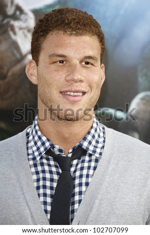 LOS ANGELES - JUNE 15: Blake Griffin at the premiere of Warner Bros. Pictures' 'Green Lantern' held at Grauman's Chinese Theatre in Los Angeles,CA on June 15, 2011.