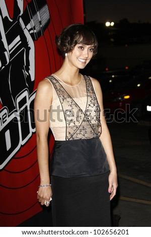 LOS ANGELES - JUNE 29: Dia Frampton at the 'The Voice' Live Finale After Party at the Avalon Hollywood on June 29, 2011 in Los Angeles, California