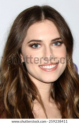 """LOS ANGELES - MAR 8:  Allison WIlliams at the PaleyFEST LA 2015 - """"Girls"""" at the Dolby Theater on March 8, 2015 in Los Angeles, CA - stock photo"""