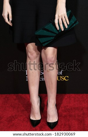 LOS ANGELES - MAR 20: Anna Kendrick at the 2nd Annual Rebels With A Cause Gala at Paramount Studios on  March 20, 2014 in Los Angeles, California - stock photo