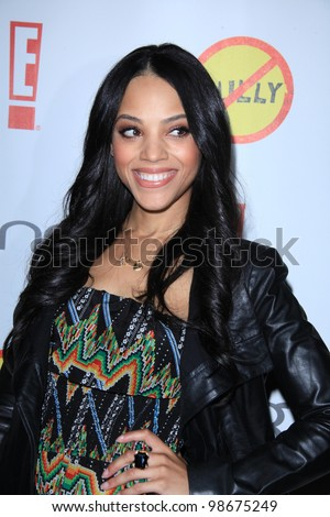 """LOS ANGELES - MAR 26:  Bianca Lawson arrives at  the """"Bully"""" Movie Premiere at the Chinese 6 Theaters on March 26, 2012 in Los Angeles, CA - stock photo"""