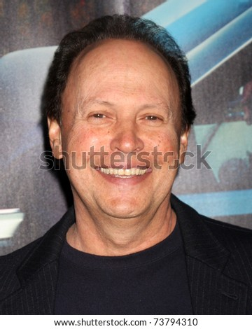 """LOS ANGELES - MAR 22:  Billy Crystal arrives at the HBO's """"His Way"""" Los Angeles Premiere at Paramount Theater on March 22, 2011 in Los Angeles, CA - stock photo"""