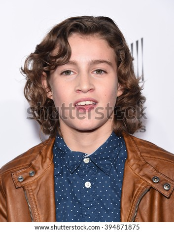 "LOS ANGELES - MAR 09:  Brandon Spink arrives to the ""Miracles Form Heaven"" Los Angeles Premiere  on March 09, 2016 in Hollywood, CA."