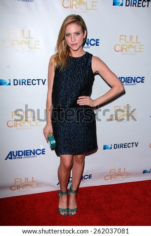 """LOS ANGELES - MAR 16:  Brittany Snow at the DirecTV's """"Full Circle"""" Season 2 Premiere at the The London on March 16, 2015 in West Hollywood, CA - stock photo"""