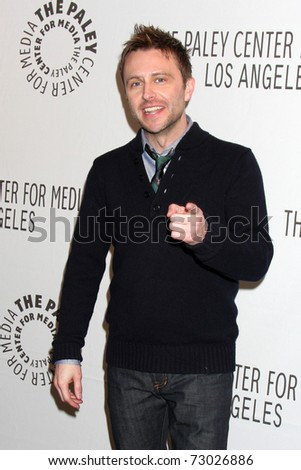 "LOS ANGELES - MAR 11:  Chris Hardwick arrives at the ""Jimmy Fallon"" PaleyFest 2011 at Saban Theatre on March 11, 2011 in Beverly Hills, CA"