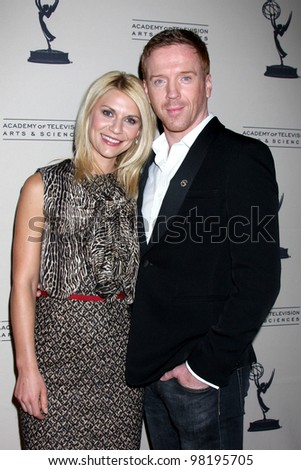"LOS ANGELES - MAR 21:  Claire Danes; Damian Lewis arrives at  the ""Homeland"" Panel at the Academy of TV Arts and Sciences on March 21, 2012 in North Hollywood, CA"
