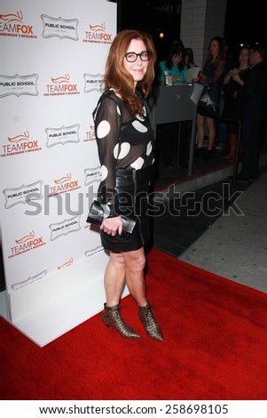 LOS ANGELES - MAR 7:  Dana Delany at the Raising The Bar To End Parkinsonâ??s Event at the Public School 818 on March 7, 2015 in Sherman Oaks, CA - stock photo
