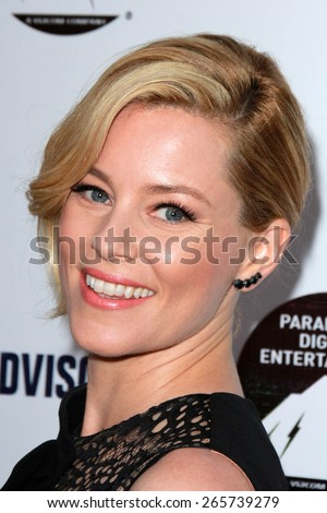 "LOS ANGELES - MAR 31:  Elizabeth Banks at the ""Resident Advisors"" Premiere at the Paramount Studios on March 31, 2015 in Los Angeles, CA - stock photo"
