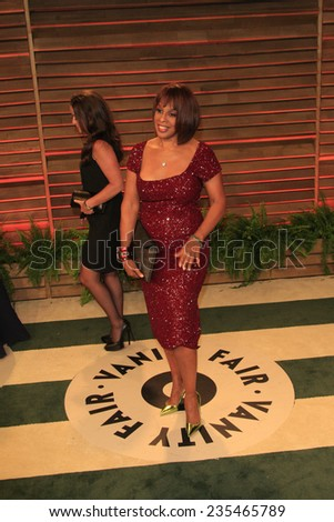 LOS ANGELES - MAR 2:  Gayle King at the 2014 Vanity Fair Oscar Party at the Sunset Boulevard on March 2, 2014 in West Hollywood, CA