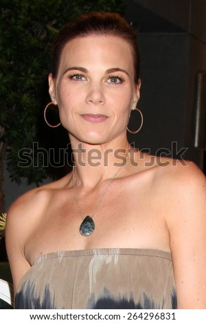 LOS ANGELES - MAR 26:  Gina Tognoni at the Young & Restless 42nd Anniversary Celebration at the CBS Television City on March 26, 2015 in Los Angeles, CA - stock photo