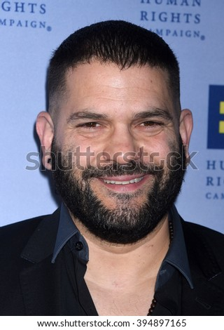 LOS ANGELES - MAR 19:  Guillermo Diaz arrives to the 2016 Human Rights Campaign Los Angeles Gala Dinner  on March 19, 2016 in Los Angeles, CA