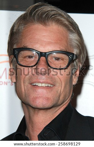 LOS ANGELES - MAR 7:  Harry Hamlin at the Raising The Bar To End Parkinsons Event at the Public School 818 on March 7, 2015 in Sherman Oaks, CA - stock photo