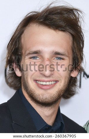 "LOS ANGELES - MAR 12:  Hopper Penn at the ""The Gunman"" Premiere at the Regal 14 Theaters on March 12, 2015 in Los Angeles, CA"