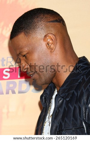 LOS ANGELES - MAR 29:  Jamie Foxx at the 2015 iHeartRadio Music Awards Press Room at the Shrine Auditorium on March 29, 2015 in Los Angeles, CA - stock photo