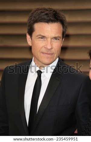 LOS ANGELES - MAR 2:  Jason Bateman at the 2014 Vanity Fair Oscar Party at the Sunset Boulevard on March 2, 2014 in West Hollywood, CA - stock photo