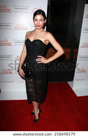 LOS ANGELES - MAR 7:  Jenna Dewan Tatum at the Raising The Bar To End Parkinsons Event at the Public School 818 on March 7, 2015 in Sherman Oaks, CA - stock photo