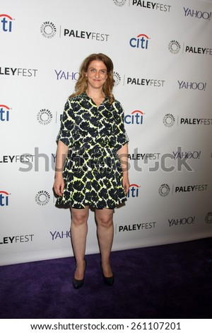 """LOS ANGELES - MAR 15:  Jennie Urman at the PaleyFEST LA 2015 - """"Jane the Virgin"""" at the Dolby Theater on March 15, 2015 in Los Angeles, CA - stock photo"""