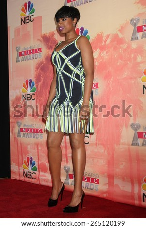 LOS ANGELES - MAR 29:  Jennifer Hudson at the 2015 iHeartRadio Music Awards Press Room at the Shrine Auditorium on March 29, 2015 in Los Angeles, CA - stock photo