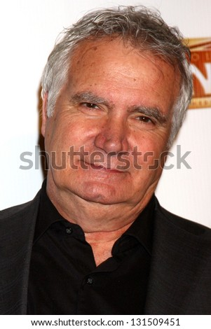"LOS ANGELES - MAR 12:  John McCook arrives at the ""Catch Me If You Can"" Opening Night at the Pantages Theater on March 12, 2013 in Los Angeles, CA"