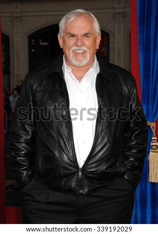 LOS ANGELES - MAR 11 - John Ratzenberger arrives at the Incredible Burt Wonderstone World Premiere on March 11,  2013 in Los Angeles, CA              - stock photo
