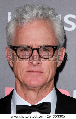 LOS ANGELES - MAR 25:  John Slattery at the Mad Men Black & Red Gala at the Dorthy Chandler Pavillion on March 25, 2015 in Los Angeles, CA - stock photo
