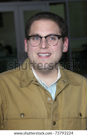 """LOS ANGELES - MAR 22:  Jonah Hill arrives at the """"Ceremony"""" Premiere at ArcLight Theater on March 22, 2011 in Los Angeles, CA - stock photo"""