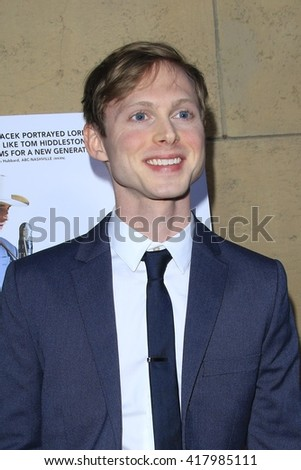 LOS ANGELES - MAR 22:  Josh Brady at the I Saw the Light LA Premiere at the Egyptian Theatre on March 22, 2016 in Los Angeles, CA - stock photo