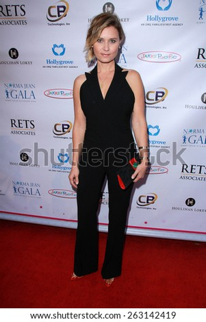 LOS ANGELES - MAR 18:  Kristina Klebe at the Norma Jean Gala at the Taglyan Complex on March 18, 2015 in Los Angeles, CA - stock photo