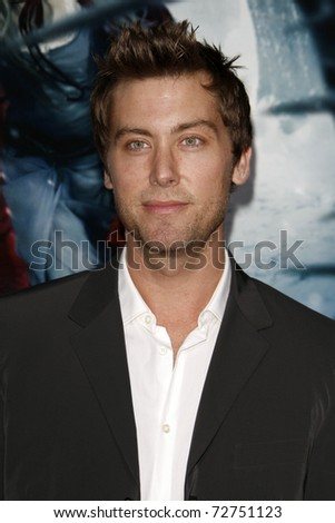"LOS ANGELES - MAR 7:  Lance Bass arrives at the ""Red Riding Hood"" Premiere at Grauman's Chinese Theater on March 7, 2011 in Los Angeles, CA"