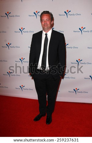 LOS ANGELES - MAR 9:  Matthew Perry at the 2015 Silver Circle Gala at the Beverly Wilshire Hotel on March 9, 2015 in Beverly Hills, CA - stock photo