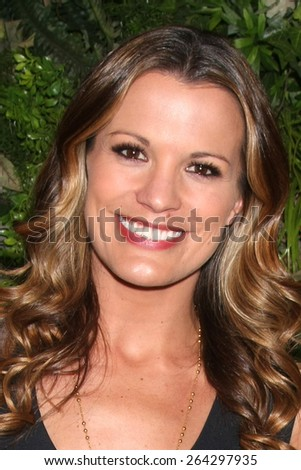 LOS ANGELES - MAR 26:  Melissa Clare Egan at the Young & Restless 42nd Anniversary Celebration at the CBS Television City on March 26, 2015 in Los Angeles, CA - stock photo
