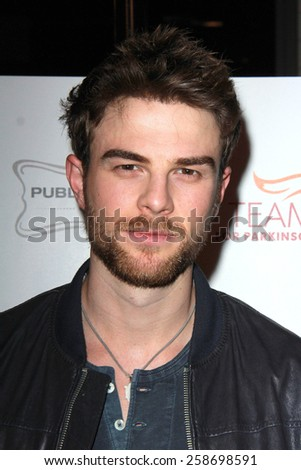 LOS ANGELES - MAR 7:  Nathaniel Buzolic at the Raising The Bar To End Parkinsons Event at the Public School 818 on March 7, 2015 in Sherman Oaks, CA - stock photo