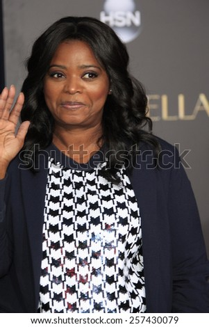 "LOS ANGELES - MAR 1:  Octavia Spencer at the ""Cinderella"" World Premiere at the El Capitan Theater on March 1, 2015 in Los Angeles, CA"