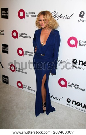 LOS ANGELES - MAR 3:  Paulina Rubio at the Elton John AIDS Foundation's Oscar Viewing Party at the West Hollywood Park on March 3, 2014 in West Hollywood, CA