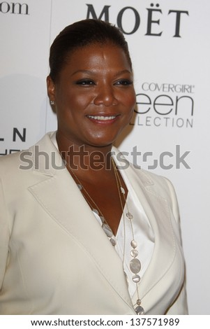 LOS ANGELES - MAR 4: Queen Latifah at the 3rd annual Essence Black Women in Hollywood Luncheon at the Beverly Hills Hotel in Beverly Hills, California on March 4, 2010 - stock photo
