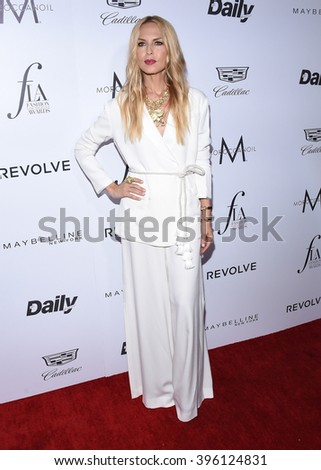 LOS ANGELES - MAR 20:  Rachel Zoe arrives to the 2nd Annual Fashion Los Angeles Awards  on March 20, 2016 in Hollywood, CA.                 - stock photo