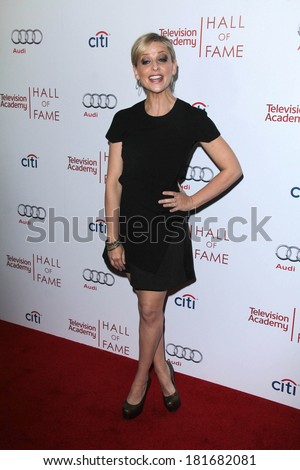 LOS ANGELES - MAR 11:  Sarah Michelle Gellar at the Television Academy's 23rd Hall Of Fame Induction Gala at Beverly Wilshire Hotel on March 11, 2014 in Beverly Hills, CA - stock photo